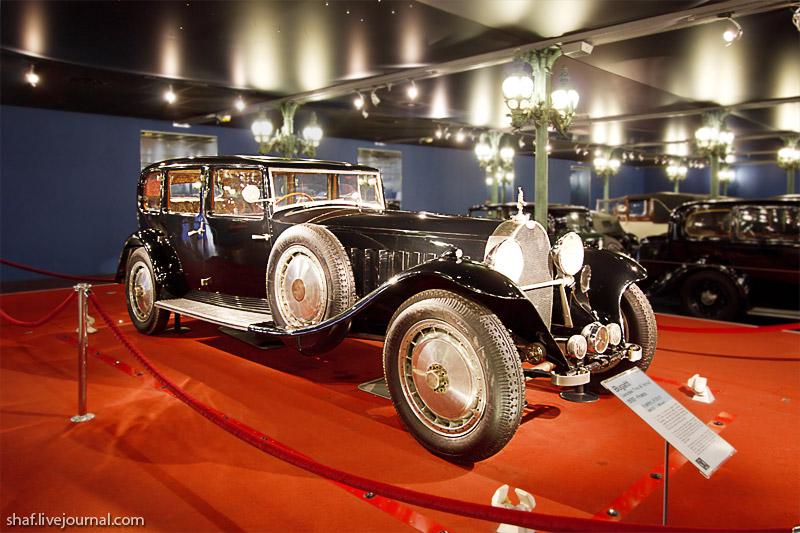 Автомузей; Национальный музей автомобилей, Мюлуз (Mulhouse), Франция; Bugatti Type 41; La Royale; Limousine Park-Ward